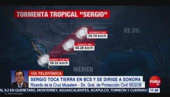 Protección Civil de Baja California Sur mantiene alerta