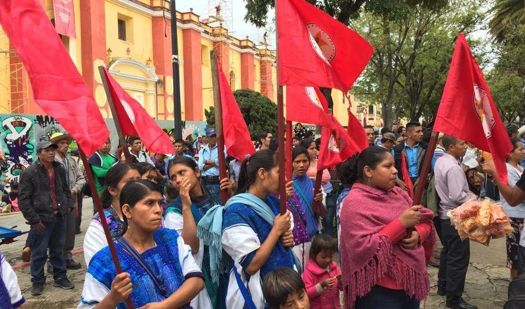 Protestas Chiapas; indígenas exigen reconocimiento pueblos