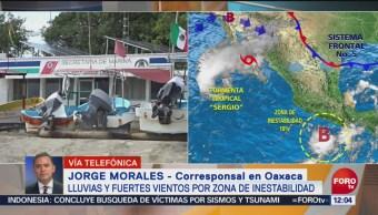Puerto Escondido se mantiene cerrado a la navegación por zona de inestabilidad