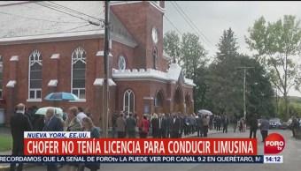 Realizan Funeral Víctimas Accidente Limusina Nueva York