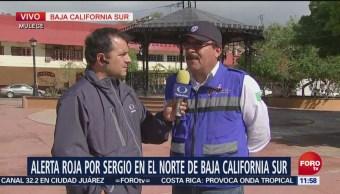 Reportan saldo blanco en Baja California Sur, tras el paso
