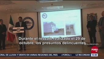 Rescatan a una mujer víctima de secuestro en Puebla