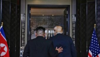 Trump evalúa 'tres o cuatro lugares' para cumbre con Kim