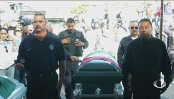 Rinden Homenaje Policías Guaymas Caídos Emboscada