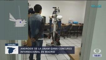 Robot de la UNAM gana concurso internacional