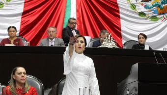 Rosario Robles discute con diputados; dice que no renuncia