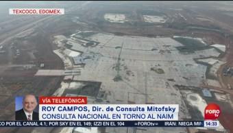 Roy Campos aprueba pregunta sobre consulta del NAIM