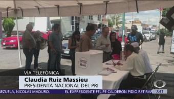 Ruiz Massieu: PRI evalúa impugnación a consulta del nuevo aeropuerto