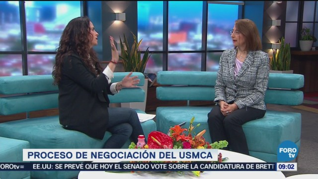Proceso De Negociación Usmca Luz María De La Mora Subsecretaría De Comercio Exterior En La Secretaría De Economía