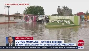 Alerta Crecida Del Río Papaloapan Río Papaloapan Veracruz