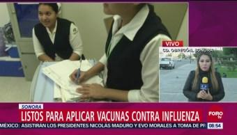Sonora Exhorta Población Vacunarse Contra Influenza