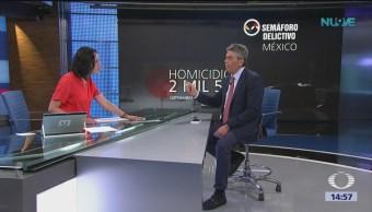 2018, el peor en la historia de México por homicidios