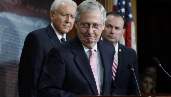 Senado de EU no votará USMCA este año McConnell