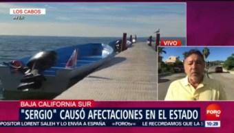 Sergio Causa Afectaciones Bcs Baja California Sur Suministro De Luz Eléctrica
