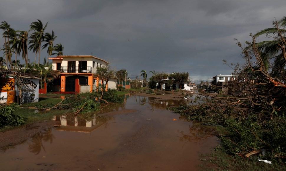 'Willa' deja estragos en Sinaloa y Nayarit; declaran emergencia extraordinaria