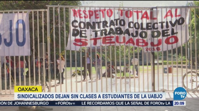 Sindicato Deja Sin Clases Estudiantes UABJO