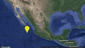 Se registran sismos en Cabo San Lucas y Puerto Vallarta