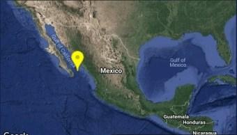 Sismo hoy, con magnitud 4.9 remece San José del Cabo
