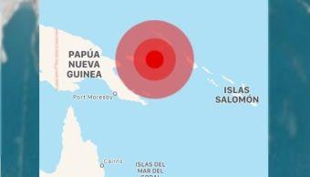 Sismo de magnitud 7.0 en Papúa Nueva Guinea