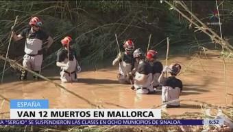 Suman 12 muertos por una tromba en la isla de Mallorca