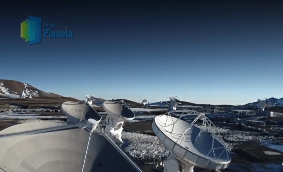El Observatorio Nacional de Radioastronomía, ALMA. (Noticieros Televisa)