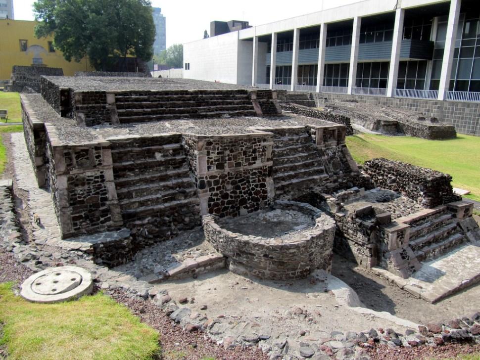 Templo Calendárico de Tlatelolco (Flickr Bencito the Traveller)