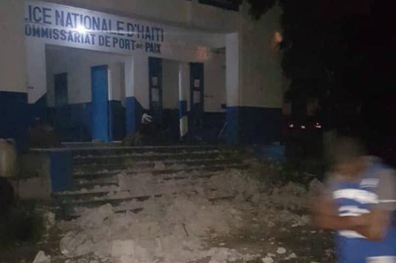 Un fuerte terremoto de magnitud 5,9 sacude el noroeste de Haití