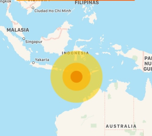 Portal Noticias Veracruz: Sismo de magnitud 5.9 sacude Indonesia
