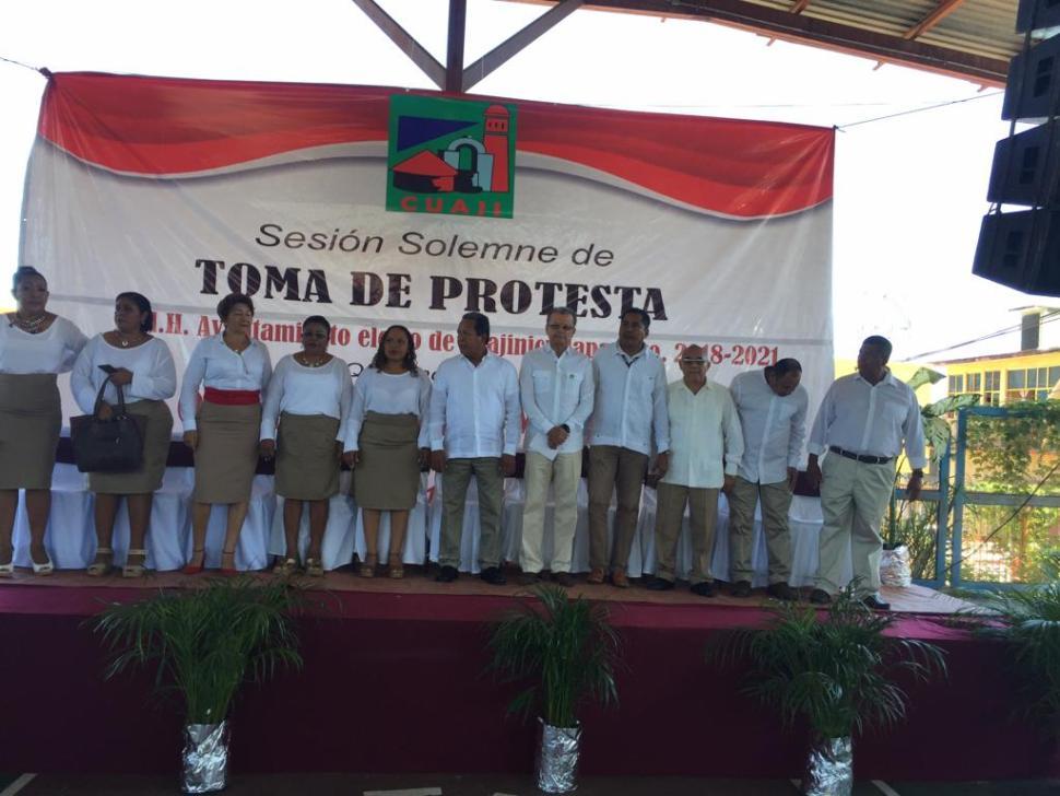 Toma de protesta de Óscar Alejandro Marín Mendoza