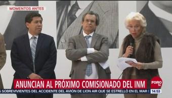 Tonatiuh Guillén López será comisionado del INM: Sánchez Cordero