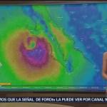 Tormenta Sergio toca tierra en Baja California