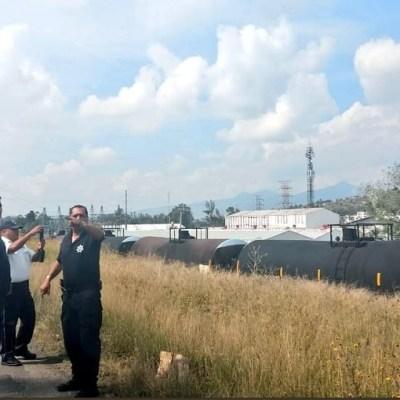 Descarrila tren en zona industrial de Morelia, Michoacán