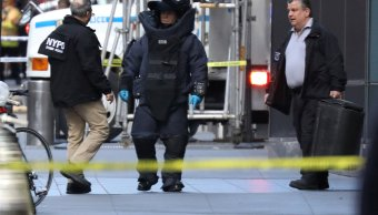 CNN critica ataques de Trump a medios tras recibir bomba