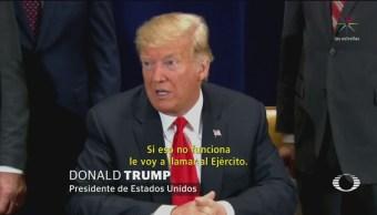 Donald Trump Llama Delincuentes Migrantes Centroamericanos