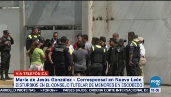 Un lesionado por disturbios en el tutelar de menores en Escobedo, Nuevo León