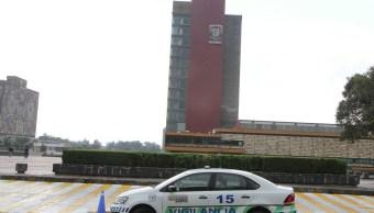 Foto: Edificio de Rectoría de la UNAM, 27 enero 2019