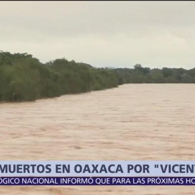 'Vicente' se degrada a depresión tropical frente a Michoacán