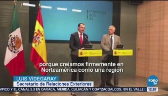 Videgaray celebra acuerdo comercial entre Estados Unidos