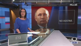 Vladimir Putin no viene a toma de posesión de AMLO