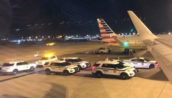 Evacuan vuelo Miami-CDMX por situación de seguridad