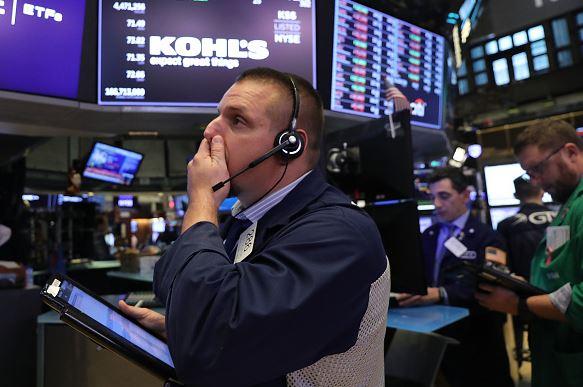 Wall Street se derrumba arrastrado rendimientos de EU