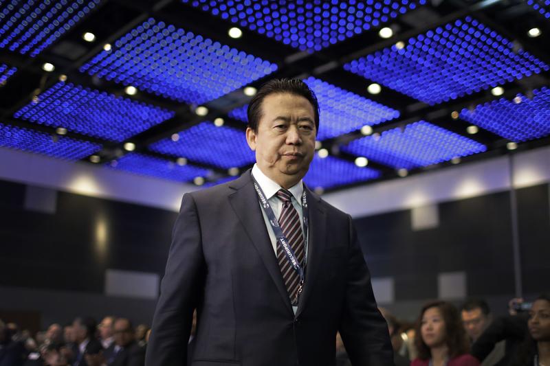 interpol dimision presidente meng honwei organizacion
