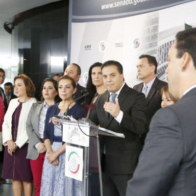 Senadores del PAN piden a AMLO definir papel de Fuerzas Armadas en seguridad interior