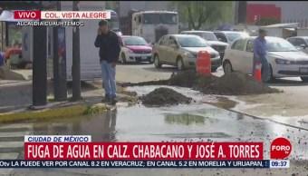 Fuga Provoca Desperdicio De Agua Alcaldía Cuauhtémoc