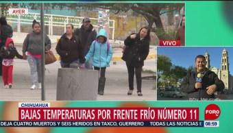 Abren 20 albergues por el frío en Chihuahua