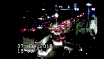 Video accidente autopista México-Toluca