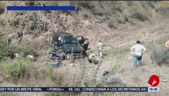 Accidente vial deja dos muertos en Nochixtlán, Oaxaca