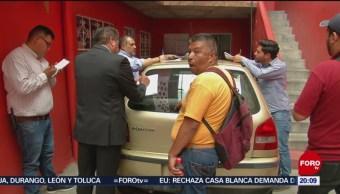 Afectados San Juanico Presentan Denuncia Lesiones