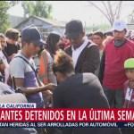 Al menos 80 migrantes detenidos en la última semana en Tijuana