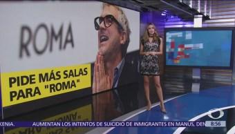 """Alfonso Cuarón pide más cines para exhibir """"Roma"""""""